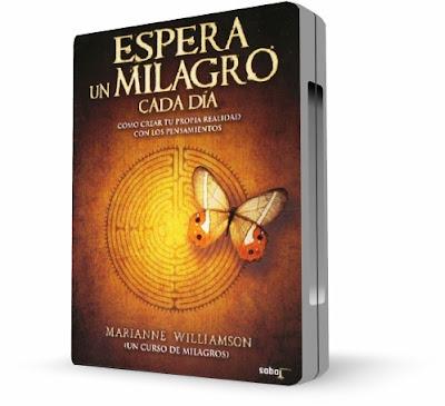 ESPERA UN MILAGRO CADA DÍA, Marianne Williamson [ Video DVD + Audiolibro ] – Cómo crear tu propia realidad con tus pensamientos