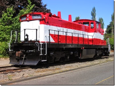 IMG_6397 Oregon Pacific GMD-1 #1413 in Milwaukie on August 28, 2010