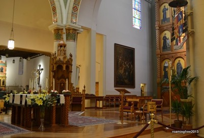Altar from the side