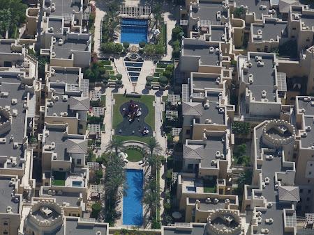 Obiective turistice Dubai: vedere din Burj Khalifa