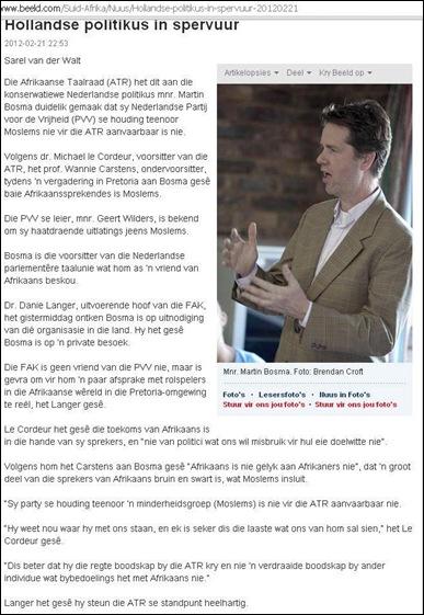 BOSMA Martin Beeld haatspraak artikel Feb 21 2012