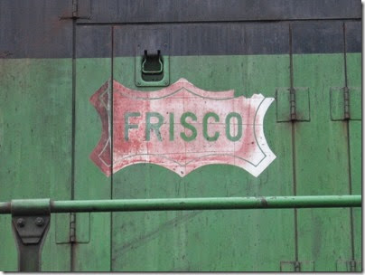IMG_6410 Frisco Herald on BNSF GP38 #2075 Pacific Pride at Centralia on May 12, 2007