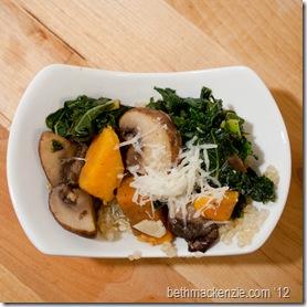kale Quinoa Mushrooms3