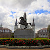 Statue of Andrew Jackson in Front St. Louis Cathedral