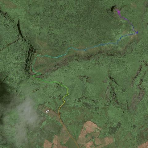 Le Pouce GPS Map Trail