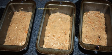 Brown Sugar Sweet Potato Bread - ready for oven B