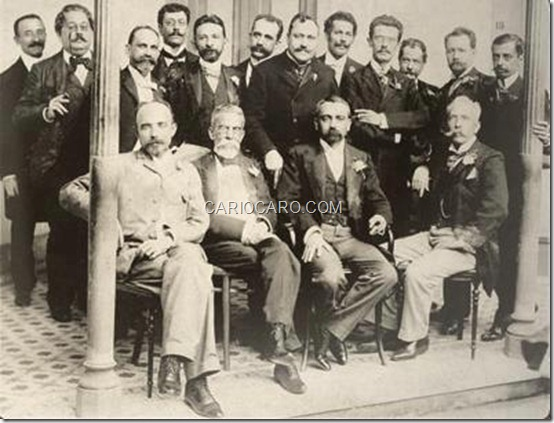 Membros da Academia Brasileira de Letras, no ano de 1897