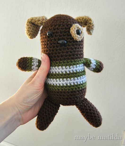 Crochet Amigurumi Dog by maybe matilda