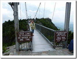 Grandfather Mtn NC-Hanging bridge