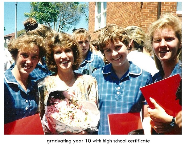 graduating year 10 high school certificate