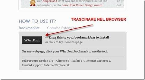 whatfont bookmarklet