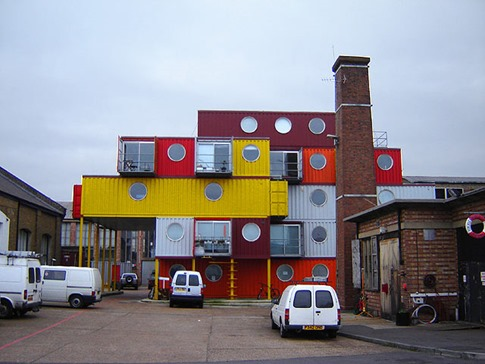 19. Container City (Londres, Reino Unido)