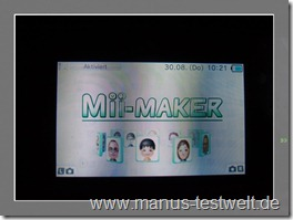 Nintendo Mii Maker