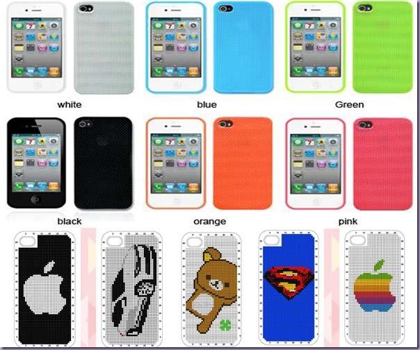 Iphone-Capinhas-DIY-Linha-Agulha-Modelos-Cores