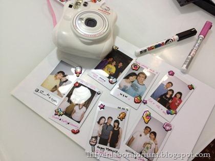 Hello Kitty Polaroid