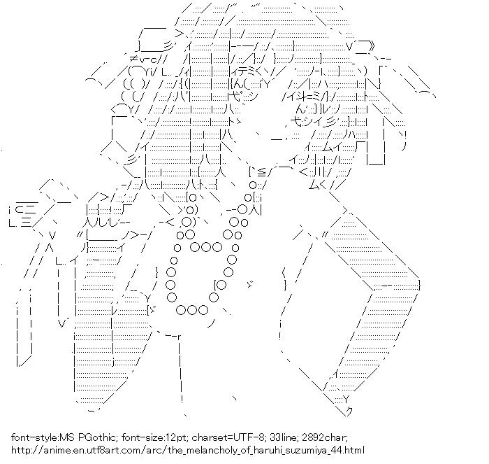 The-Melancholy-of-Haruhi-Suzumiya,Suzumiya Haruhi