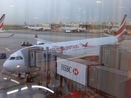 Air Mauritius la Paris
