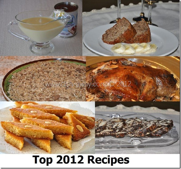 2012 top 10 recipes
