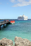 Taking the Tenders Back To The Ship - Lifou, New Caledonia