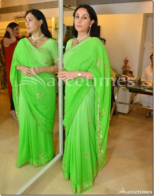 Green_Designer_Embroidery_Saree