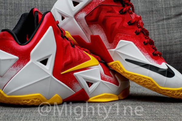 Four Different Nike LeBron XI iD Designs by Mighty1ne