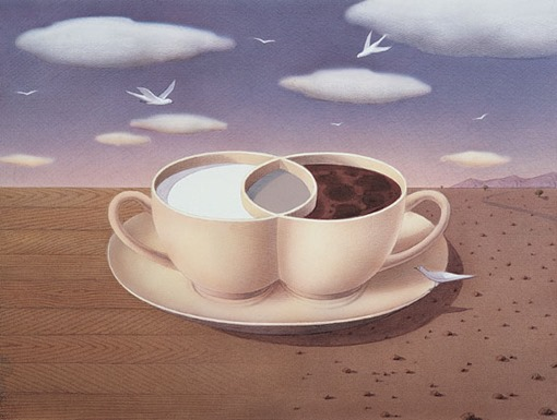Гурбуз Доган Оксиоглу - Кофе с молоком