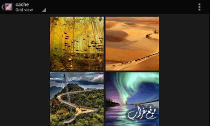 Android cache album