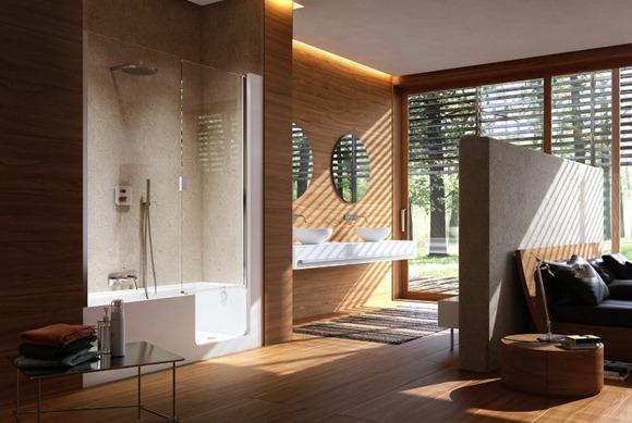 Elegantes y sofisticados modelos de baños