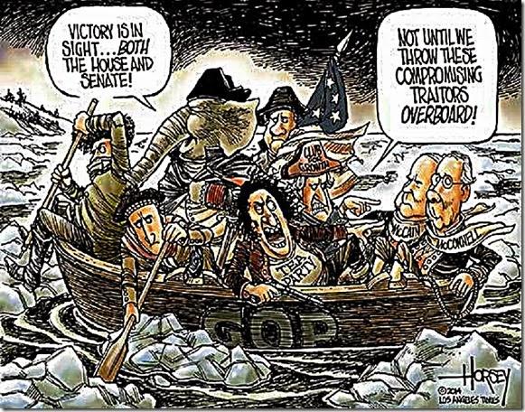 USS GOP - Tea Party vs GOP Establishment