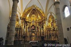 Altar iglesia de Zamudio