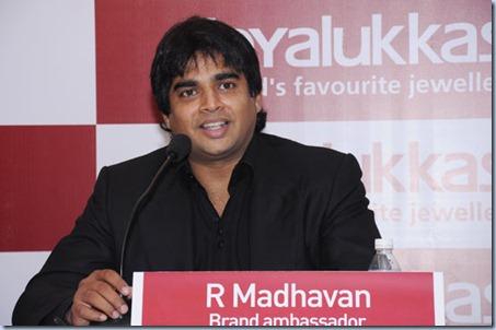 Madhavan at Joyalukkas