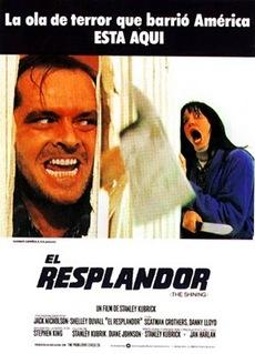 Poster El resplandor