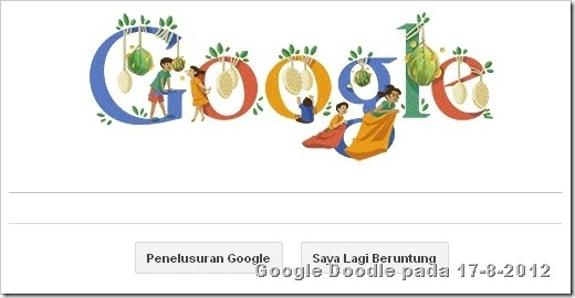 google doodle 17 agustus 2012