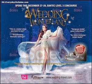 W&T Wedding Wonderland Singapore Jualan Gudang EverydayOnSales Offers Buy Sell Shopping