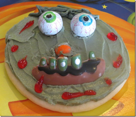Landon's zombie cookie