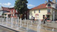 Andrychów - fontanna w rynku Photo