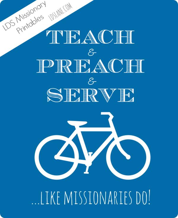 Free Printable - Like Missionaries Do - ldslane.com (5 colors!)