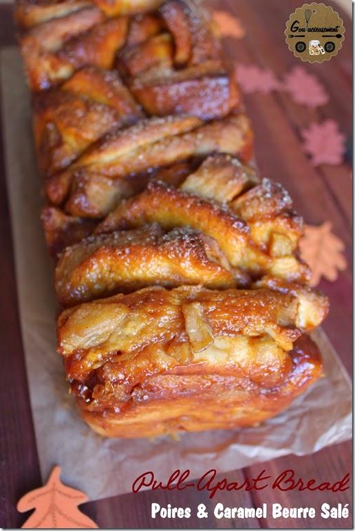 Pull-Apart Bread Poires & Caramel Beurre Salé 9