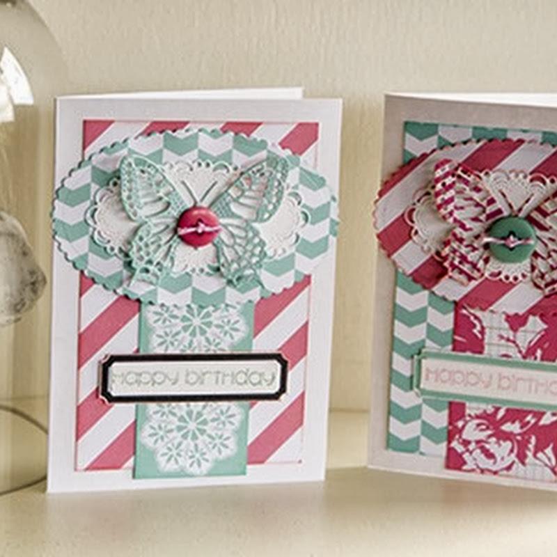 Simple Birthday Cards by Susan Longman