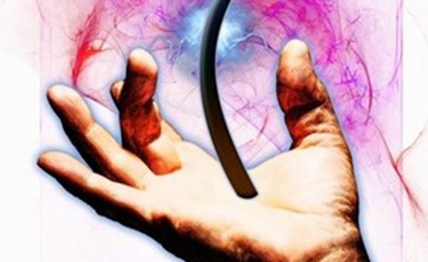 poil dans la main