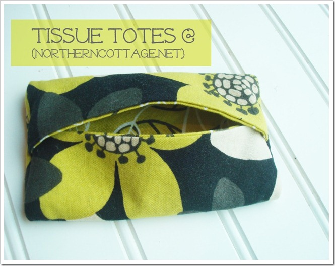 TISSUE TOTES @ NorthernCottage.net