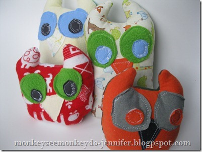 Owl Stuffie and pattern (20)