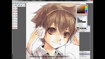 Screenshot of Anime Drawing Tutorial