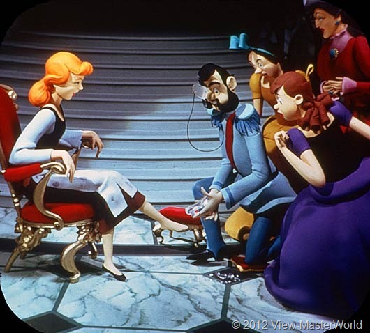 View-Master Walt Disneys Cinderella (B318), Scene 20