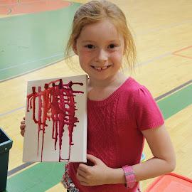 Crayon Art !! by Suann Vandewalker - Babies & Children Child Portraits
