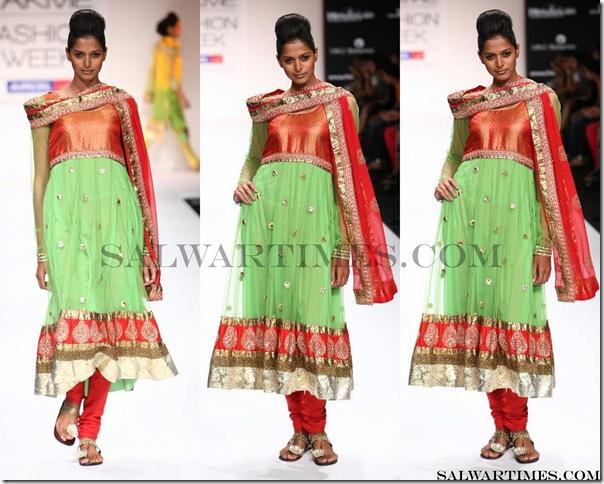 Payal_Kapoor_Green_Designer_Salwar_Kameez