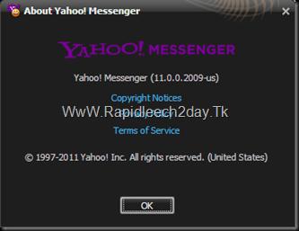 Yahoo! Messenger 11.0.0.2009