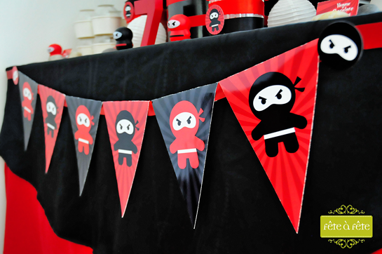 banner-for-ninja-party---Ninja-Party-by-Fete