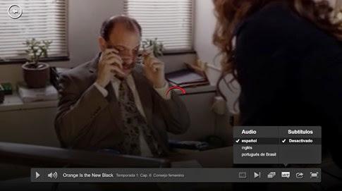 Netflix - error subtítulos en español