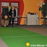 Koersbal in ontmoetingscentrum de Kiepe Nieuwe Pekela - Foto's Harry Wolterman